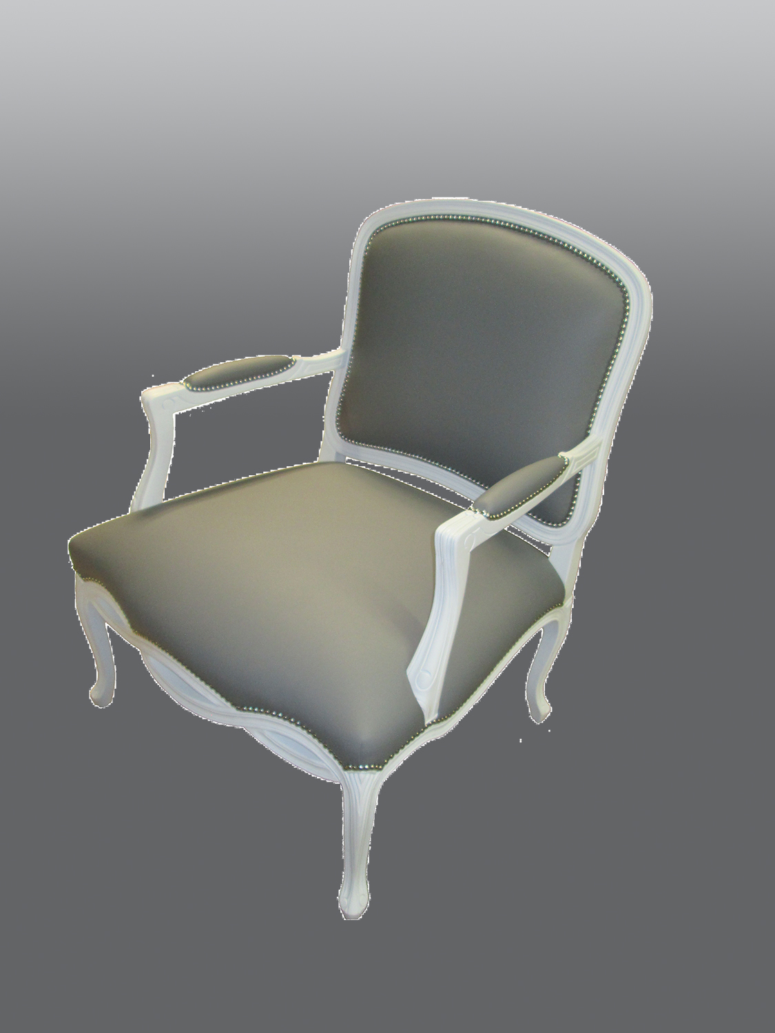 Armchair With Nailheads Weber Furniture Service Llc Chicago
